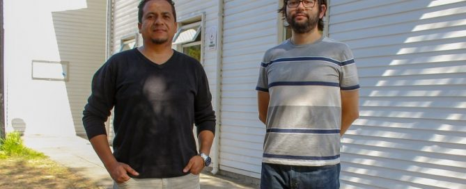 David Mora y Rodolfo Rodríguez